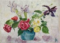 blumenstillleben by frank woodberry applebee