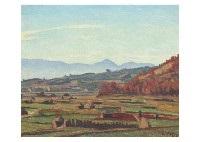 landscape by hakutei ishii