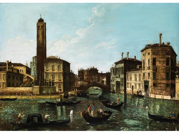 ansicht des canal grande by francesco tironi