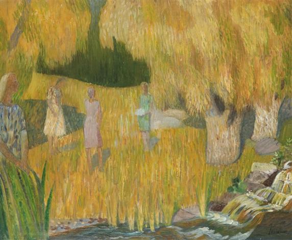 kvinnor i landskap by gunnar torhamn