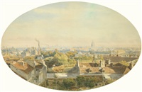 vue de paris by theodore jung