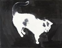 ohne titel (katze) by rafal bujnowski