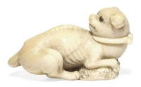 puppy with an awabi shell by anonymous-japanese (18)
