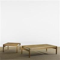 coffee tables (pair) by ole gjerlov knudsen