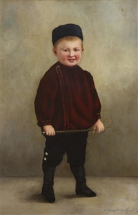 young boy by nikolai dmitrievich dmitriev-orenburgsky