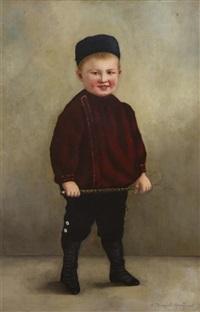 young boy by nikolai dmitrievich dmitriev-orenburgsky