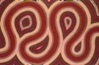 le rêve du ver de terre/worm dreaming by tjungurrayi lionel possum