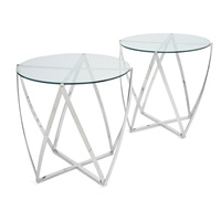 occasional tables, designed (pair) by john vesey