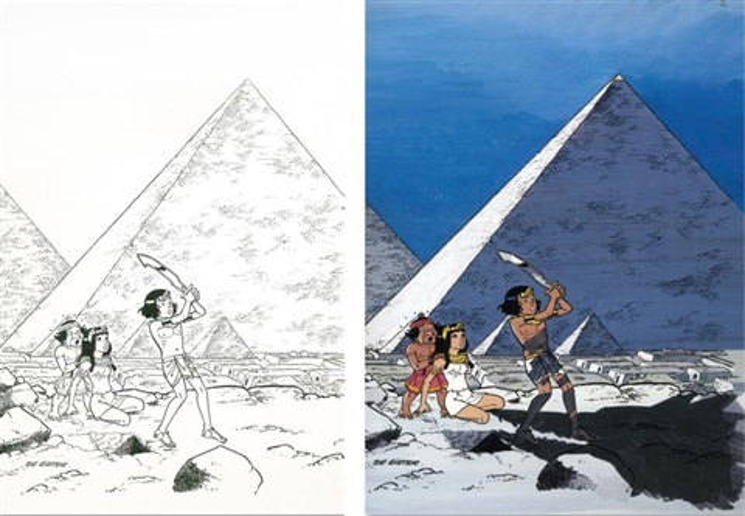 papyrus 21 le talisman de la grande pyramide by lucien de gieter