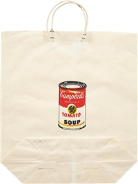 campbell's soup can (tomato) by andy warhol
