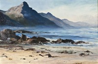 sea scape by ruth squibb
