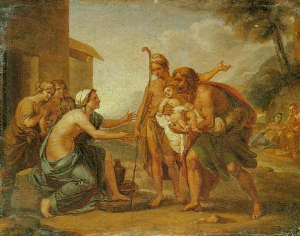 scena biblica by vincenzo camuccini