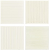 untitled (4 works) by agnes martin