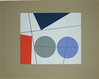 untitled (+ 4 others; 5 works) by sophie taeuber-arp