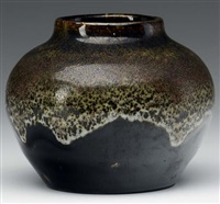 bulbous vase by oscar louis bachelder