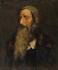 portrait of a jew by max sandor