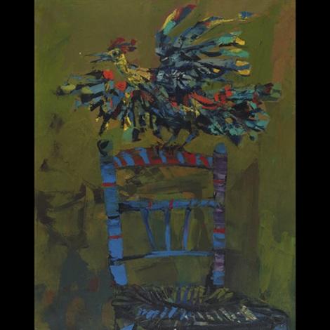 coq sur la chaise by miquel ibarz