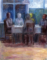 friends meeting by michel roginsky