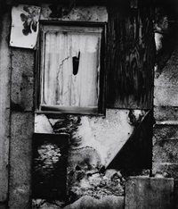 cabin facade by brett weston