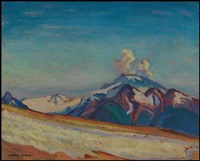 the sitting cloud on top of garibaldi mountain by charles hepburn scott