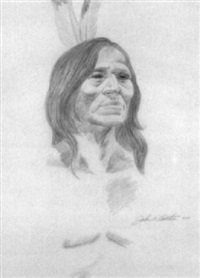 a native american by john aldrich ruthven