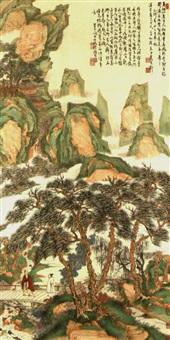 green landscape by qi guliang