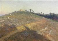 ermita junto a los pinares de oromana by jose arpa y perea
