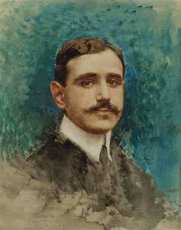 portrait dhomme by léon joseph florentin bonnat