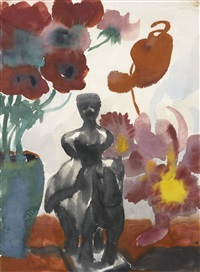 blumen (flowers) by emil nolde