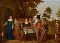 déjeuner galant by jasper van der laanen