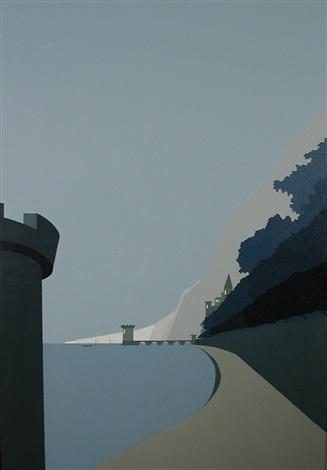 embankment (+ house in the valley; pair) by art van kruiselbergen