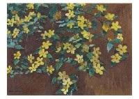 globeflower by hakutei ishii