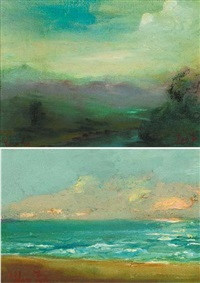 county wicklow (+ irish sea; pair) by adam kos