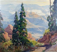 view of the grand canyon by carl hoerman