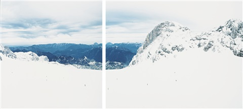 dachstein ii in 2 parts by walter niedermayr