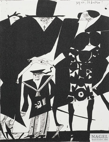 ohne titel 6 works by horst janssen