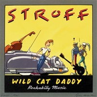 stroff (cover for wild cat daddy) by ever meulen