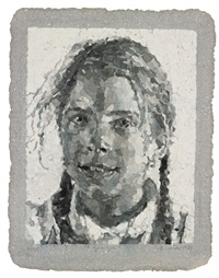 georgia by chuck close