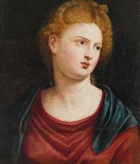 ritratto di donna by bernardino licinio