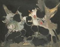 chevaux fantasmagoriques by alfred aberdam