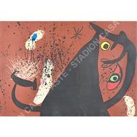 gatto fantastico by joan miró