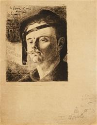 autoportrait by armand seguin