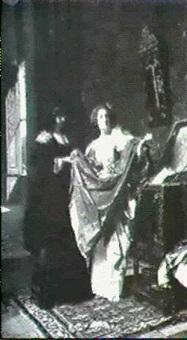 le coffre de mariage, epoque louis xiii by eugène ernest hillemacher