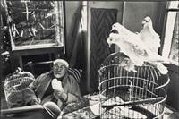henri matisse, vence, france, 1944 by henri cartier-bresson