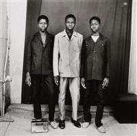 les trois amis avec poste radio by malick sidibé