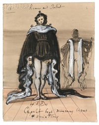 costume design for capulet boys in romeo and juliet by eugene berman