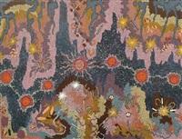 walu ku langu (fire) dreaming by nungurrayi gabriella possum