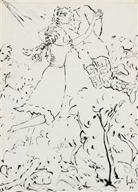 figuras (da série os poetas) by júlio reis pereira