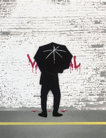 umbrellered assassin by nick walker