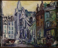 eglise de paris by piero solavaggione